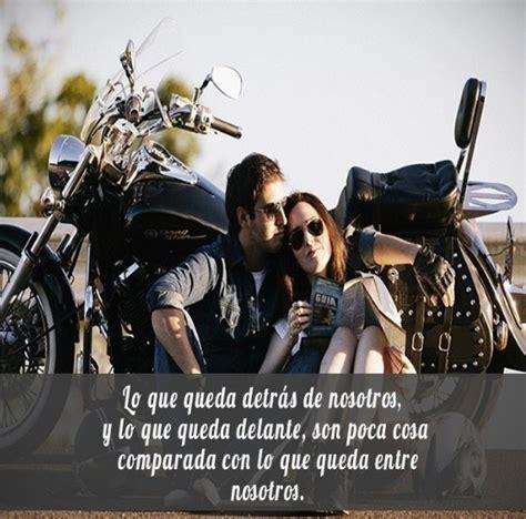 imagenes con frases de amor en moto rom 225 nticas y bonitas im 225 genes de amor con motos