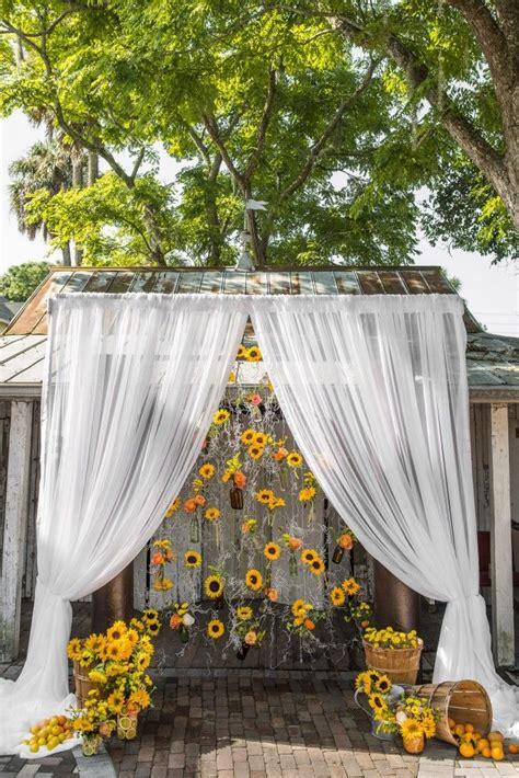 backdrops pagesepsitename sunflower wedding