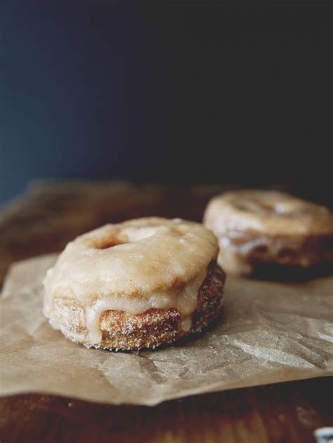 Grape Glaze Donat Glaze puff pastry donuts with cinnamon sugar maple glaze the