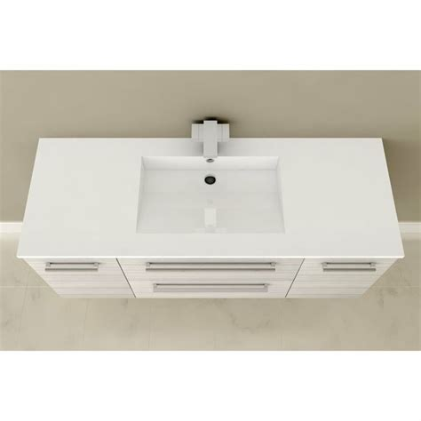 cutler silhouette 48 in x 19 in single sink bathroom