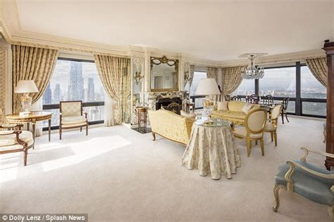Trump Apartment eyeing 23million apartment in nyc s trump tower daily mail online