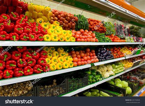What Is The Shelf Of Vegetable fresh organic vegetables fruits on shelf stock photo 291734945