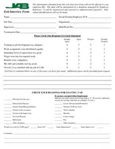 exit form template best photos of employee exit form employee