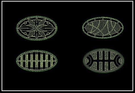 floor pattern cad block mosaic design drawing cad drawings download cad blocks