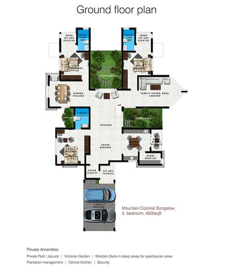 floor plans of legacy homes luxury villas in kerala