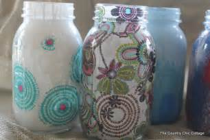 decorating jars five ways with plaidcrafts walmartplaid - Decorate A Jar For