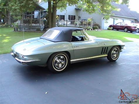1966 corvette convertible for sale 1966 chevy corvette convertible