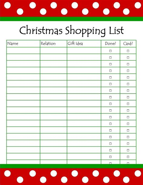 free printable household shopping list pin by trudi thomas on diy pinterest