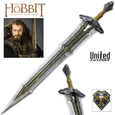 Harbolnas Buy 1 Get 1 Free Armor Shield Ironman Highq Regal Sword Of Thorin Oakenshield Budk Knives