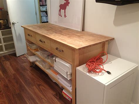 Butcher Block Portable Kitchen Island by Ikea Hacking The Varde Unit Lindsay Stephenson