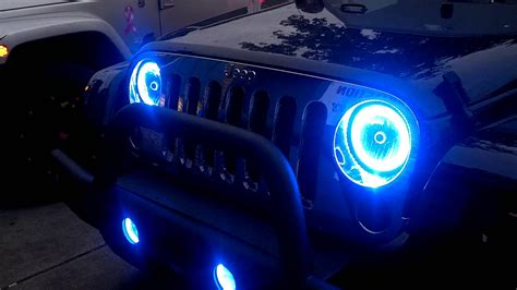 jeep lights on top oracle lighting jeep jk best home design 2018