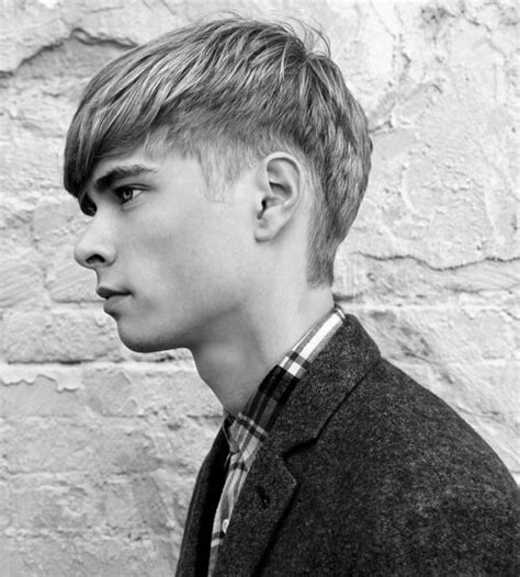 hairstyles for angular faces sporty hairstyles for men with round faces