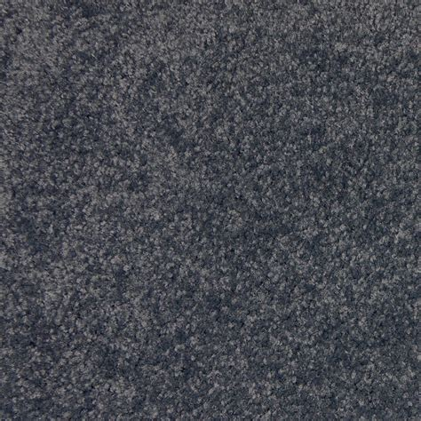 shop stainmaster golden rule grey blue textured indoor carpet at lowes