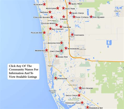 map of naples fl equity courses map