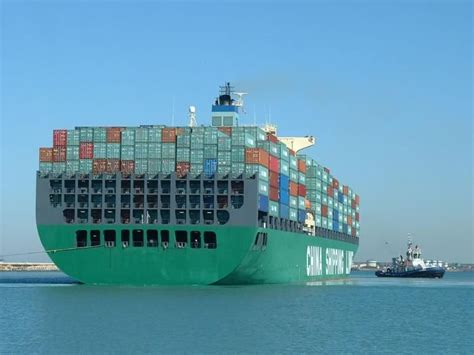 biggest shipping vessel in the world world s biggest container ship 19 000 teu ordered by