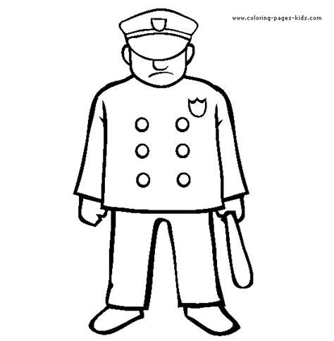 dibujos para colorear de policias free coloring pages printable police man coloring pages