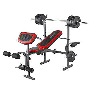 competitor weight bench with 80 pound weight set competitor weight bench with 80 pound weight set