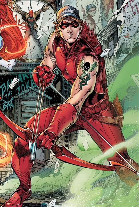 arsenal dc arsenal roy harper dc comics marvel pinterest arsenal