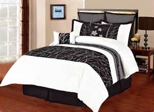 black and white comforters sets black white comforters sets home design ideas