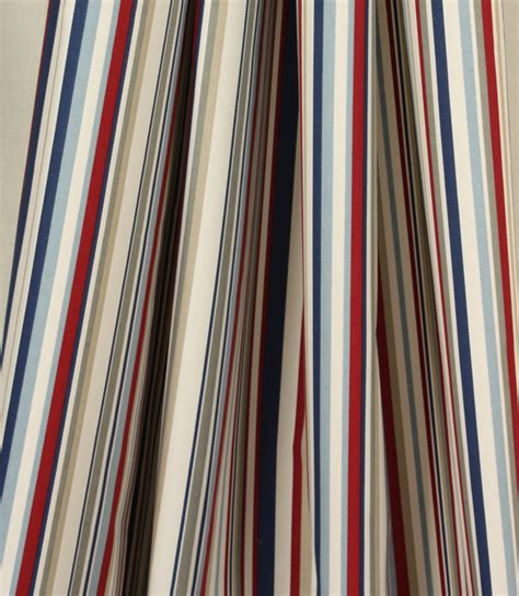Funky Upholstery Fabric Uk by Funky Stripe Fabric Blue Just Fabrics