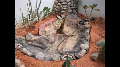 diy koi pond waterfall project youtube
