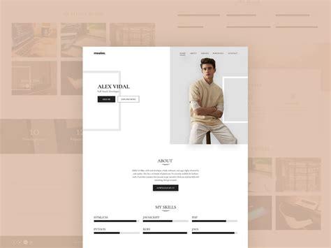 personal portfolio template personal portfolio template