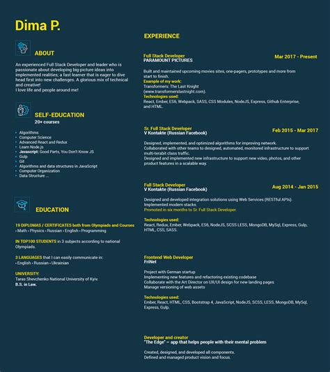 Node Js Resume by Nodejs Resume Talktomartyb