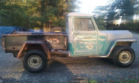 1962 Jeep Willys Truck 1962 Willys Jeep 4x4 Truck For Sale Willys