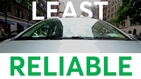 2017 five least reliable new cars consumer reports doovi