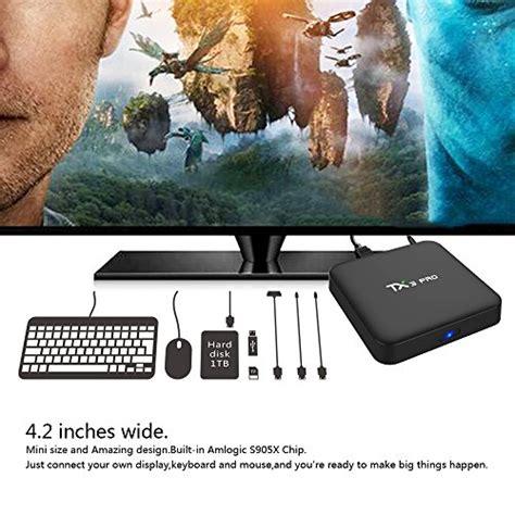 Tx3 Pro Android 60 Marshmallow Amlogic S905x 4k Tv Box 1gb8gb kekilo tx3 pro tv box amlogic s905x android 6 0