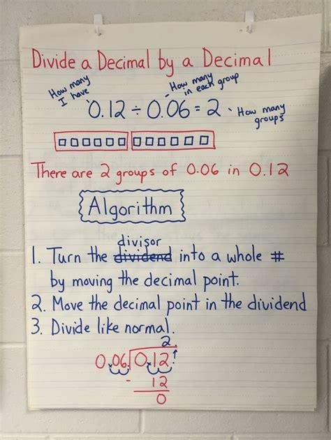dividing decimals unit dividing decimals math methods