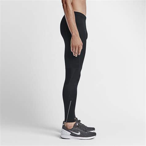 Shortpants Legging Nike Black For Running Fitness nike mens dri fit essential running tights black tennisnuts