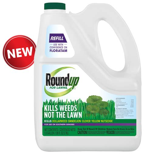 roundup for lawns roundup for lawns 4 grass friendly killer refill