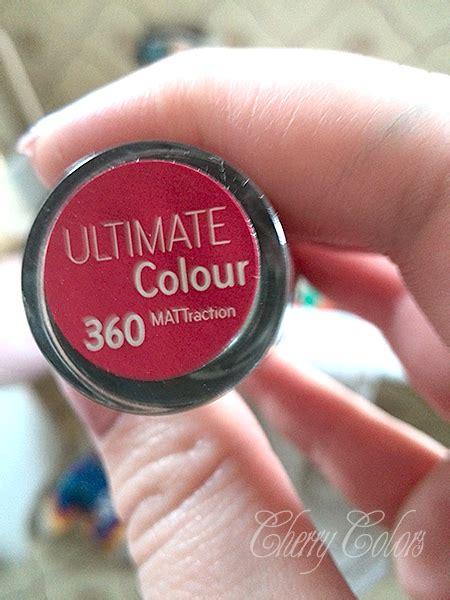 Catrice Matt Lipstick Matt About Pink catrice 360 lipstick mattraction cherry colors cosmetics heaven