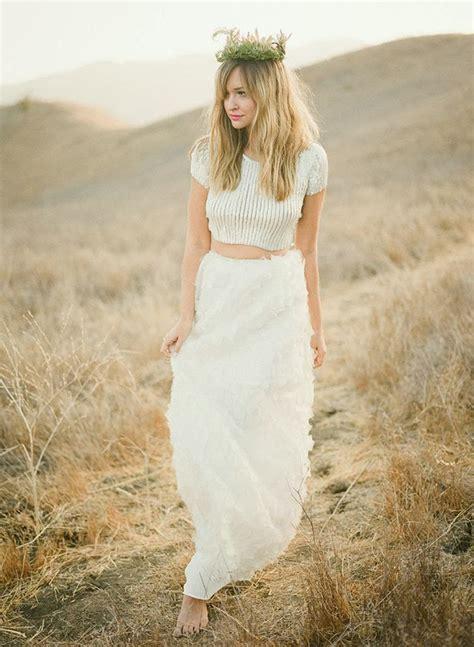 Top Wedding Dresses by Top Of The Crops Crop Top Wedding Dresses 2015