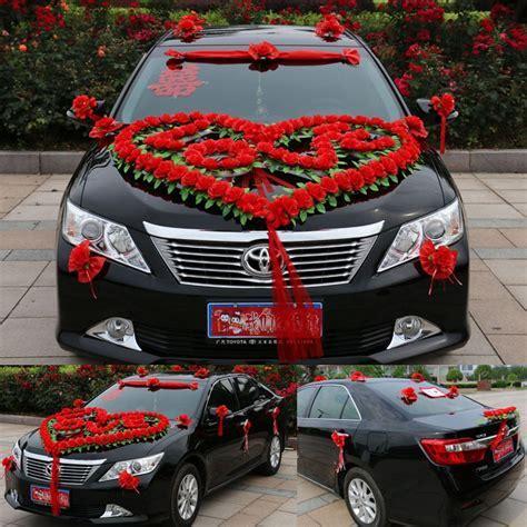 "New Style Luxury Wedding Car Decoration Set Heart ""LOVE"