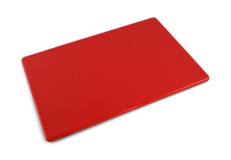 chopping board plastic commercial red plastic cutting board 20 x 15 x 0 5
