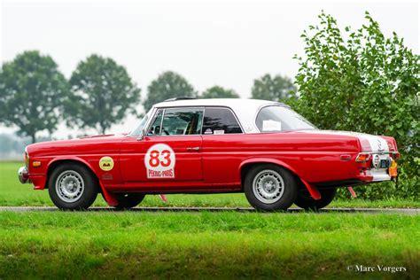 mercedes rally car mercedes 280 se 3 5 rally car 1970 classicargarage