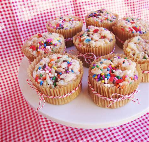 baked treats cake batter krispie treats just helen
