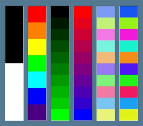 saturated colors color toolkit pulsar engine