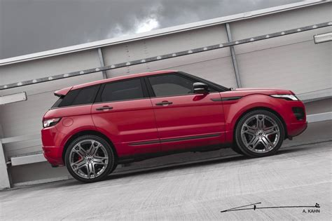 project kahn range rover evoque tuning car tuning