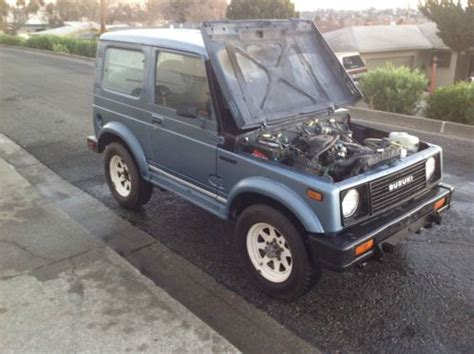 electronic toll collection 1992 suzuki samurai on board diagnostic system buy used 1986 suzuki samurai jx sport utility 2 door 1 3l in vallejo california united states