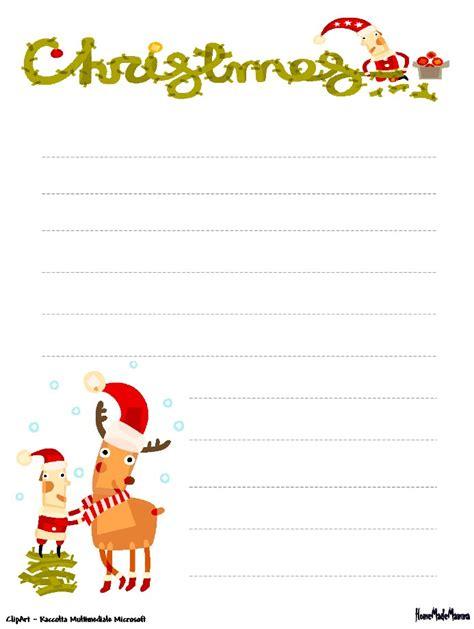 lettere di natale da scrivere scrivere la letterina a babbo natale