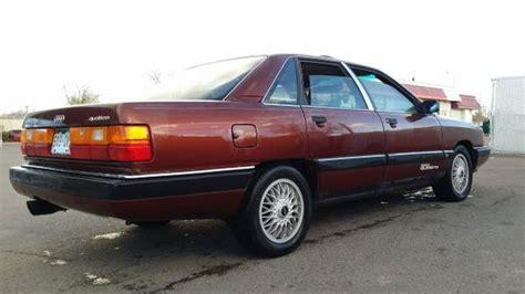 car owners manuals for sale 1989 audi 200 regenerative braking 1989 audi 200 quattro german cars for sale blog