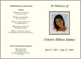 memorial service program templates teknoswitch