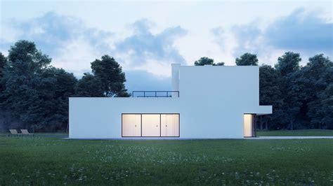pedjapetkovic modern minimal white house
