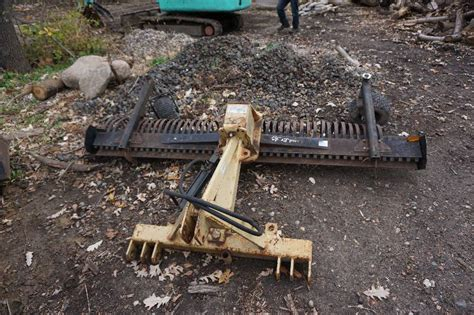 Offset Landscape Rake Land Pride Brand 3 Point Mount 90 Quot Hydraulic Angle