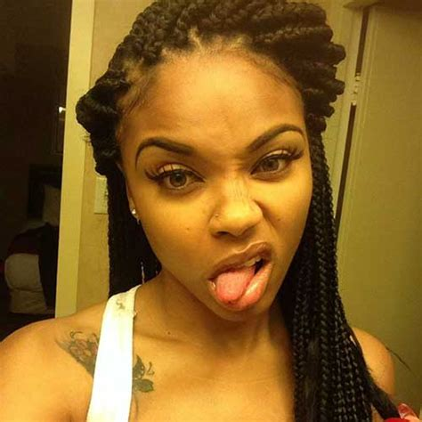 how to style box braids for black women 20 braids hairstyles for black women hairstyles