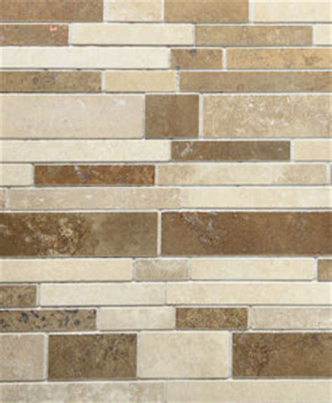 Beige travertine subway backsplash tile backsplash com