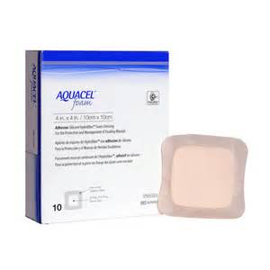 Aid And Comfort Buy Aquacel Foam Adhesive 10cm X10cm First Aid Old